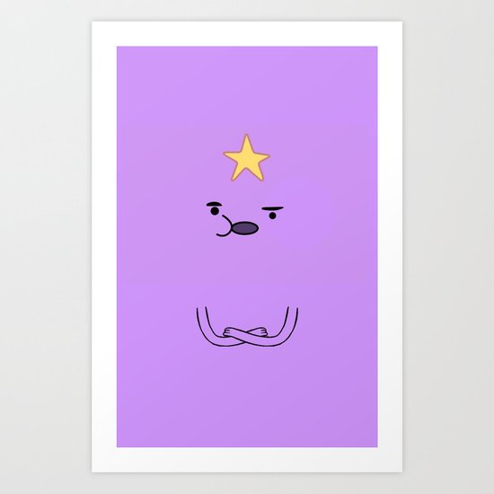 oh my glob lsp art print by travis woodward society6. Black Bedroom Furniture Sets. Home Design Ideas