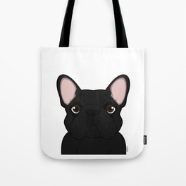 Frenchie - Black Brindle Tote Bag