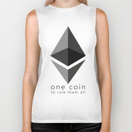 Ethereum : one coin to rule them all Biker Tank