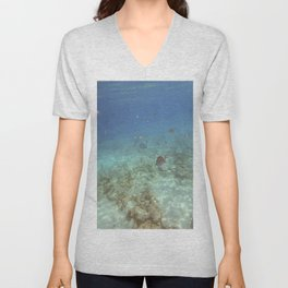 Plenty Of Fish In The Sea (3) Unisex V-Neck