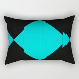 Strict composition N.2 Rectangular Pillow