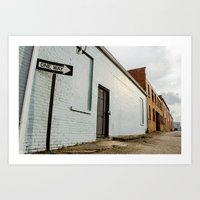 buildings Art Prints featuring Buildings  by Nicholas G. Benvenuto