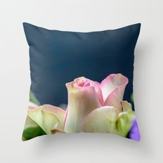 Softness of a rose Throw Pillow