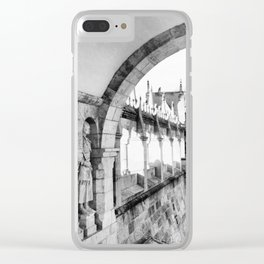 Fisherman's Bastion Clear iPhone Case