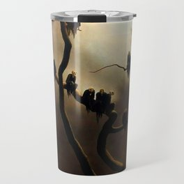 Vivid Retro - Ghosts in a Tree Travel Mug
