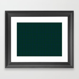 Montgomery Tartan Framed Art Print