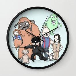 Retro Childhood Wall Clock