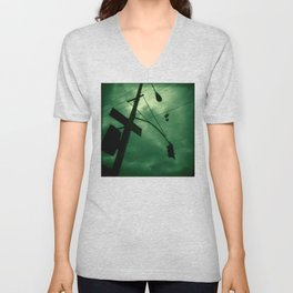 Shoes and Wires Unisex V-Neck