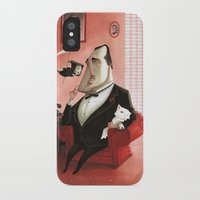 the godfather iPhone & iPod Cases featuring The Godfather Tribute by Daniela Volpari