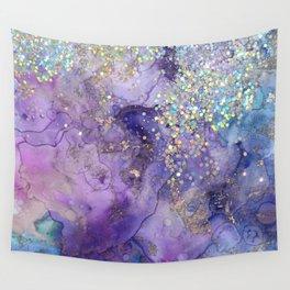 Watercolor Magic Wall Tapestry