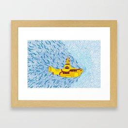 My Yellow Submarine Framed Art Print