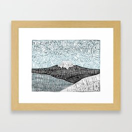 'JaPow' by Sarah King  Framed Art Print