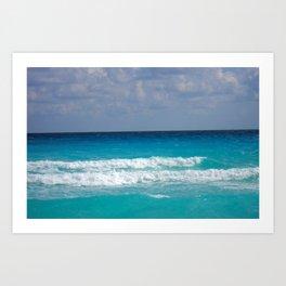 Ocean Waves - M Art Print