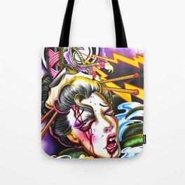 Geishas Nightmare Tote Bag
