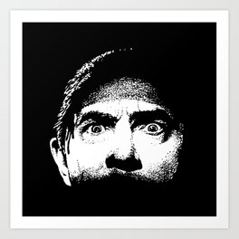 Bela Lugosi creepy eyes Dracula Art Print