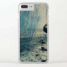 por ti.. Clear iPhone Case