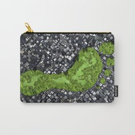 Carbon footprint Carry-All Pouch