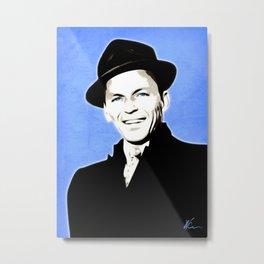 Frank Sinatra - My Way - Pop Art Metal Print