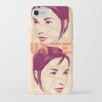 bjork iPhone & iPod Cases featuring Bjork by Isabel Arenas