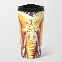Elephant Mandala Travel Mug