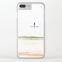 Paddle board Clear iPhone Case