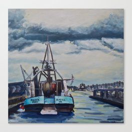 The Locks Canvas Print