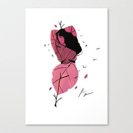 mother.nature. Canvas Print