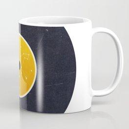 Vinyl Record Star Sign Art | Leo Coffee Mug