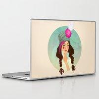 bohemian Laptop & iPad Skins featuring Bohemian by Kit Seaton