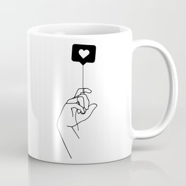 Likes is in the air Coffee Mug
