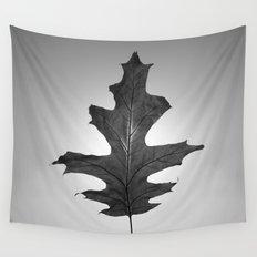 Dark Leaf 2 Wall Tapestry