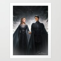 Art Prints featuring The Court of Dreams by charliebowater