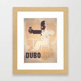 Vintage poster - Dubonnet Framed Art Print