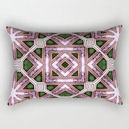Victorian Art Deco Medieval Pattern colorful SB39 Rectangular Pillow