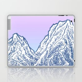 "遠望 series -""Valley"" - Linocut Laptop & iPad Skin"