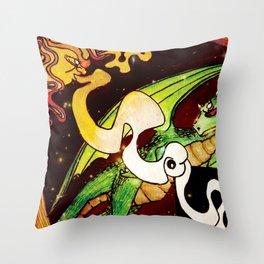 Solar Astro Throw Pillow