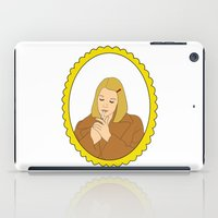 tenenbaum iPad Cases featuring Margot Tenenbaum by Whiteland