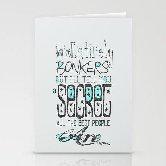 Bonkers Stationery Cards