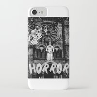 horror iPhone & iPod Cases featuring Horror by alexflasher
