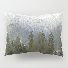 Fresh powdered snow... Pillow Sham