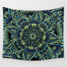 Moody Mandala Wall Tapestry
