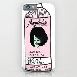 Megababe Hairspray. iPhone Case