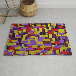 Midnight Musings Strong Strokes Rug