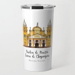 Basilica de Nuestra Senora de Chiquinquira Travel Mug