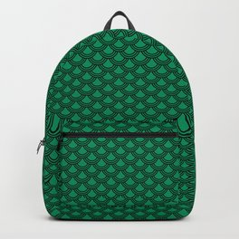 Chinese Scales Green Dragon Backpack