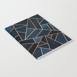 Navy Stone Notebook