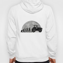 Agricultural machine mechanic Evolution Moon Tractor Hoody