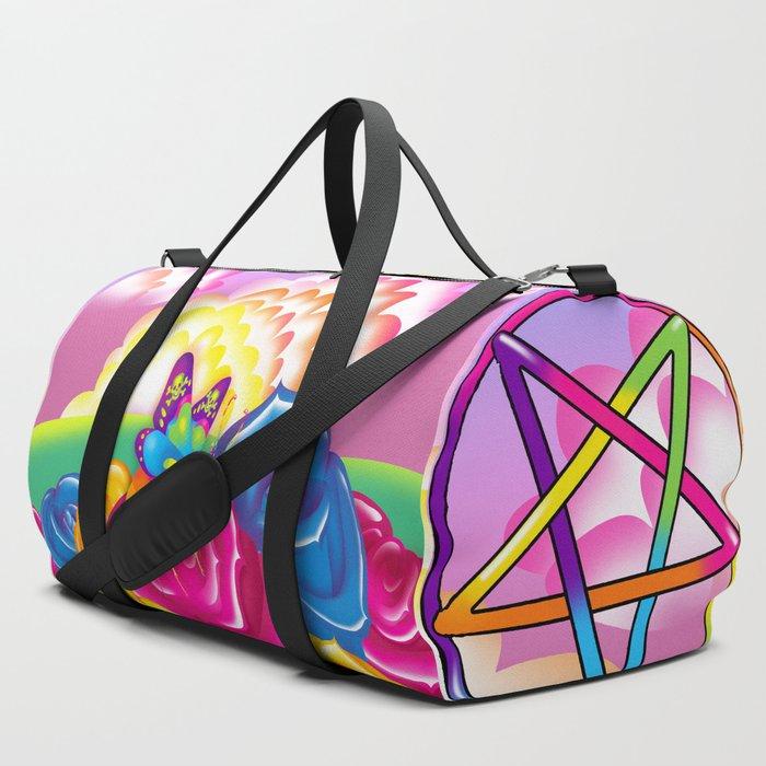 1997_Neon_Rainbow_Beelzebub_Duffle_Bag_by_creepygirlclub__SET_OF_3