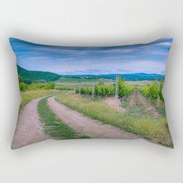 Summer in Tihany Rectangular Pillow