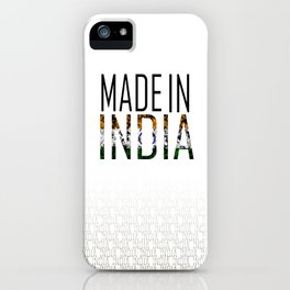 Made In India iPhone Case